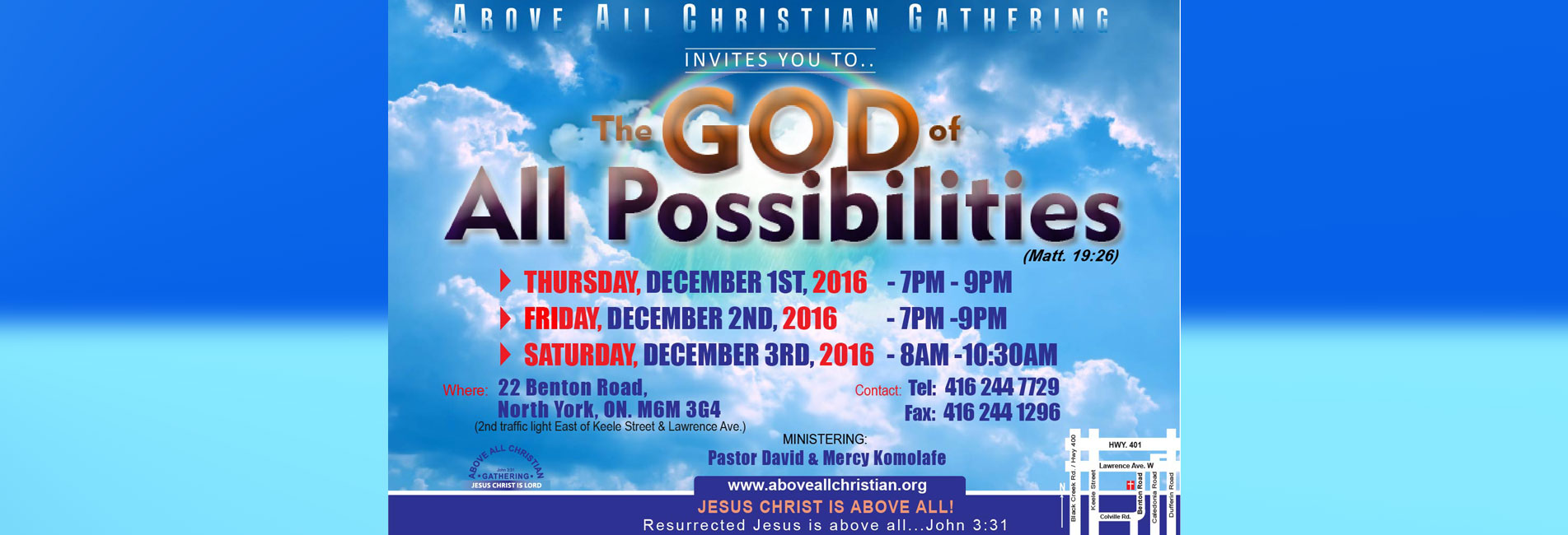 The God of All Possibilities